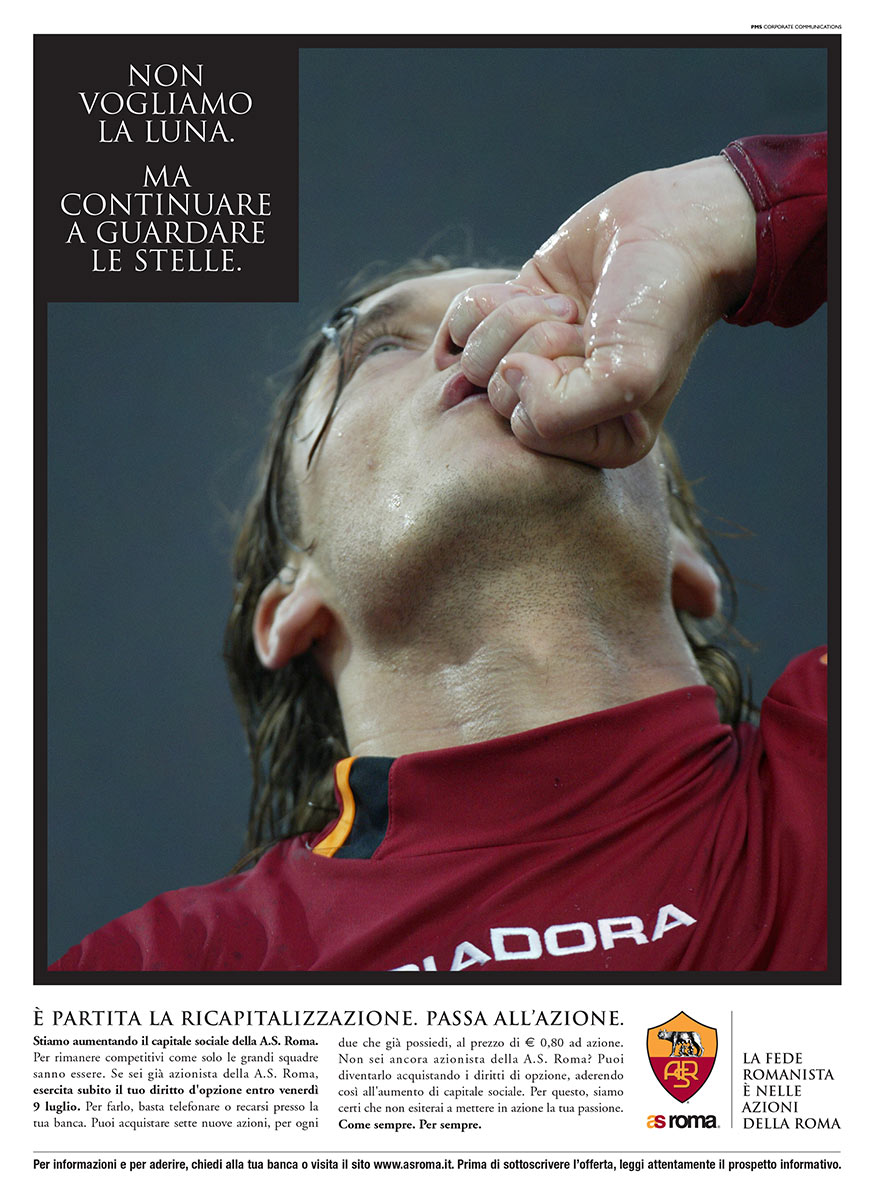 A.S: Roma: Campagna Stampa Quotidiani - Il Messaggero Roma -